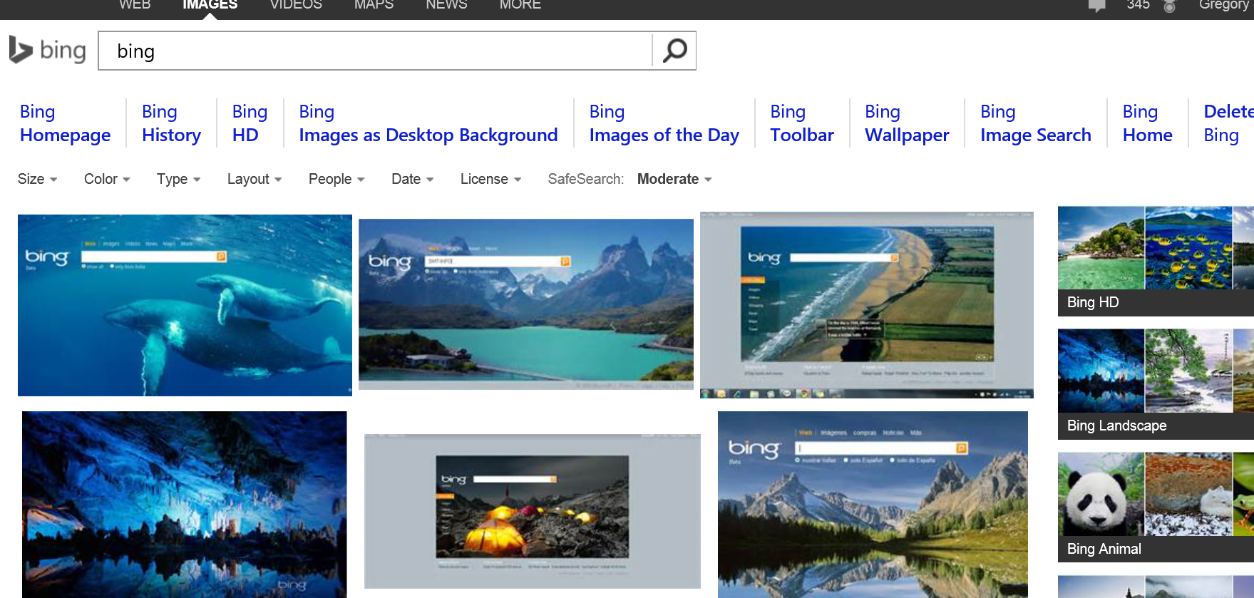 How To Use Bing Images For Your Website