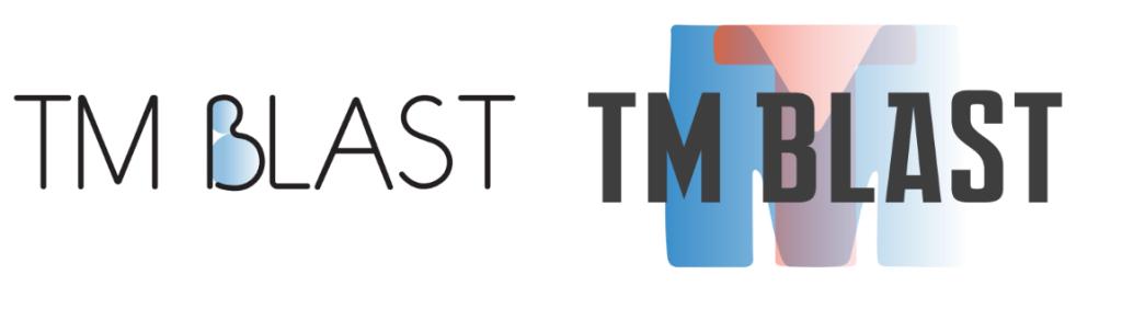 TM Blast two logos