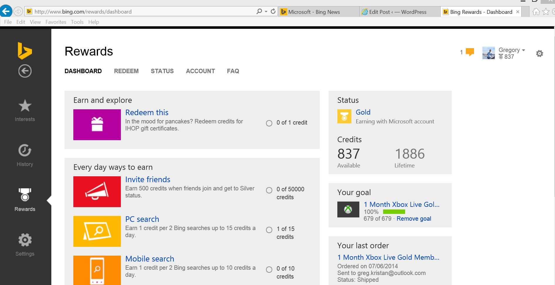 1892 x 970 jpeg 150kB, Bing Rewards Dashboard TMBlast