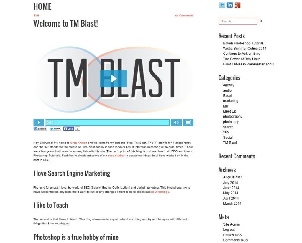 New TM Blast