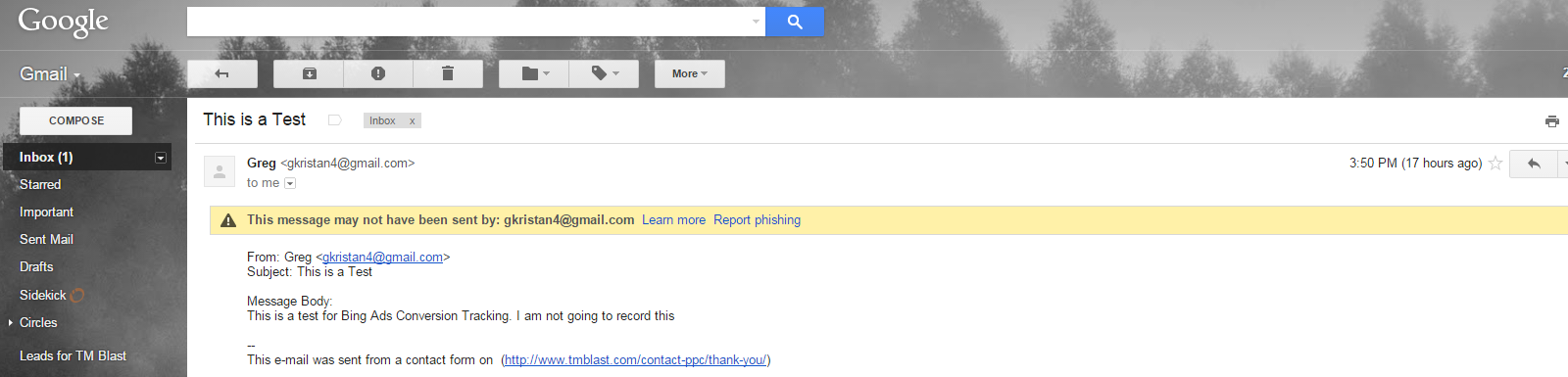 Email in Gmail