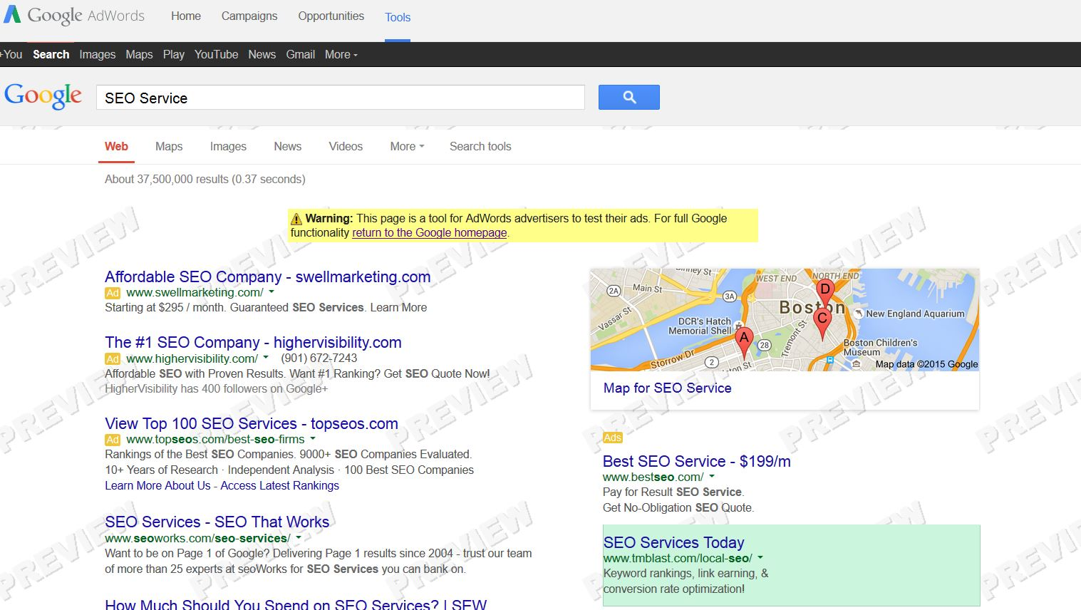 How to Preview an Ad in Google AdWords