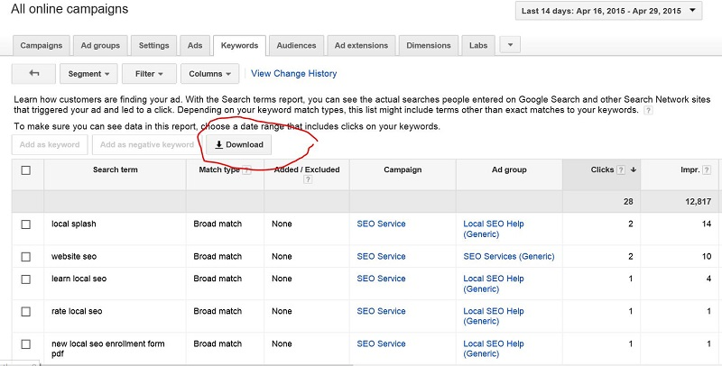 New-Keywords-in-AdWords-with-Match-Types
