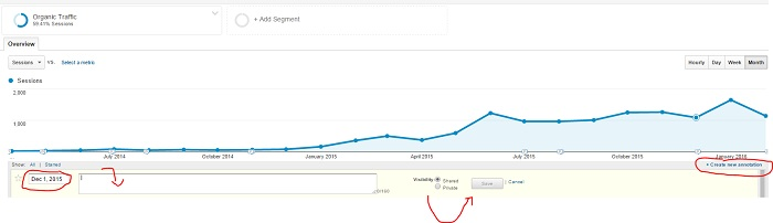How to Add an Annotations in Google Analytics