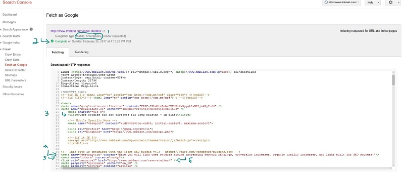 How to Analyze a Webpage in Google Search Console