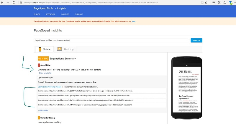 How to Review Your Page's Speed in Google