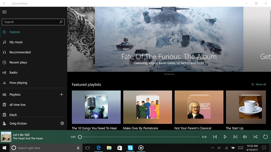 What is Microsoft Groove