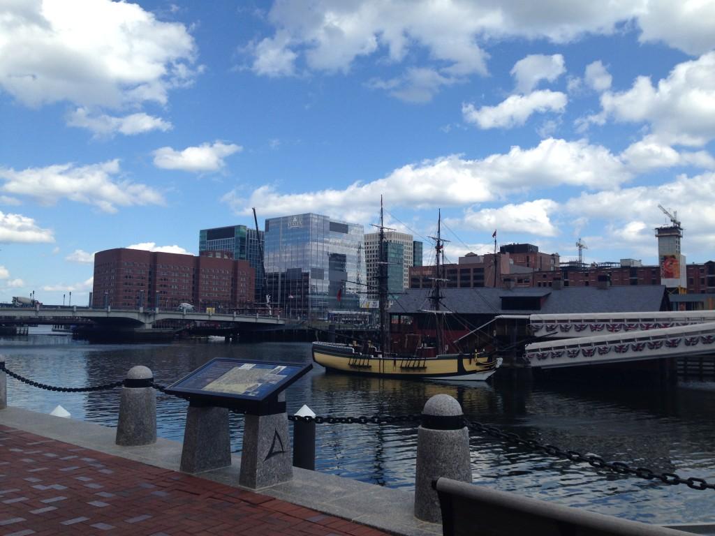 Boston MA harbor