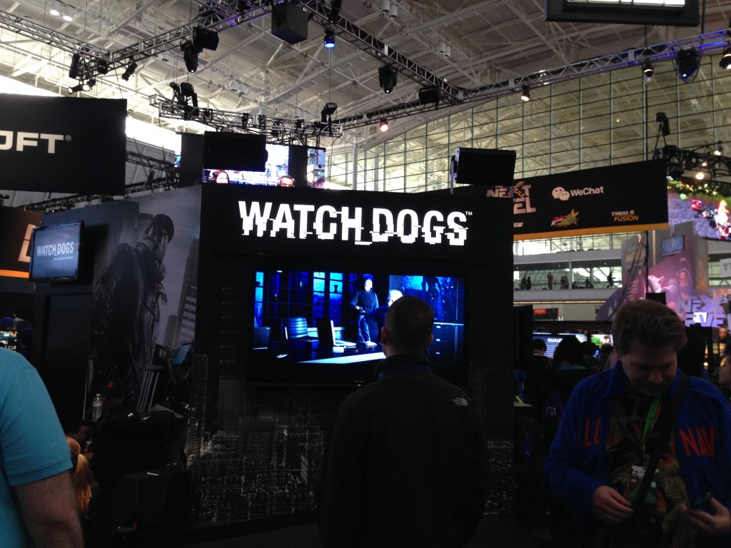 Watch Dogs at Pax