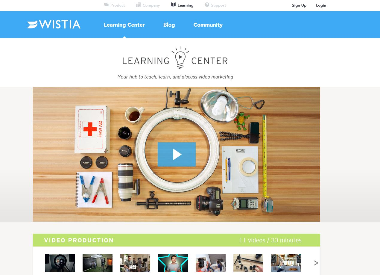 Wistia Learning