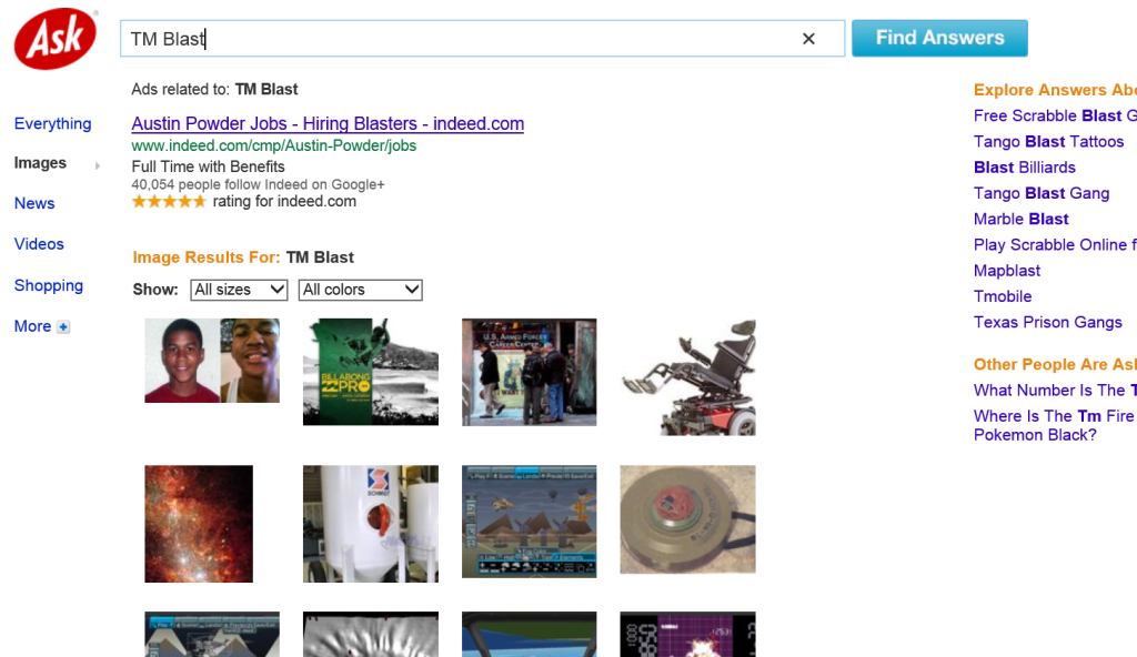 Ask Image Results