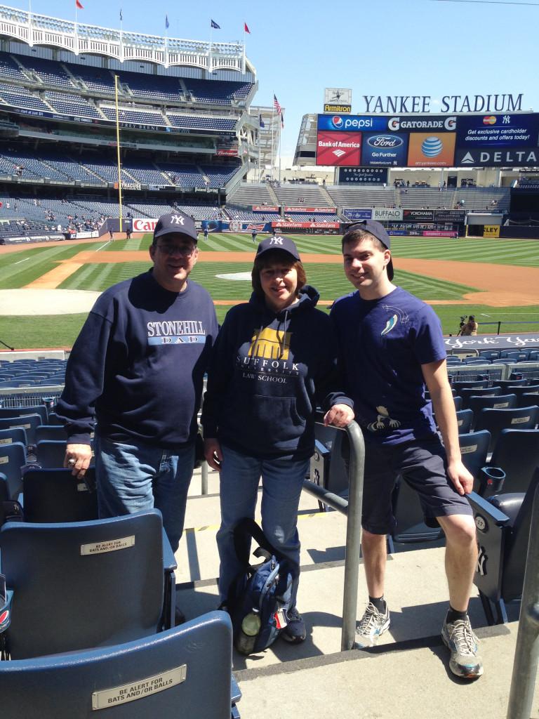 Greg at Yankee Stadium