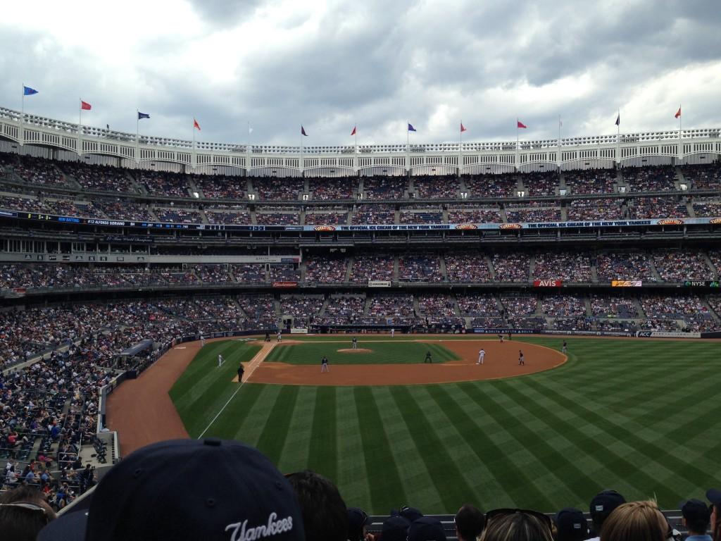 Section 206 Yankee Stadium