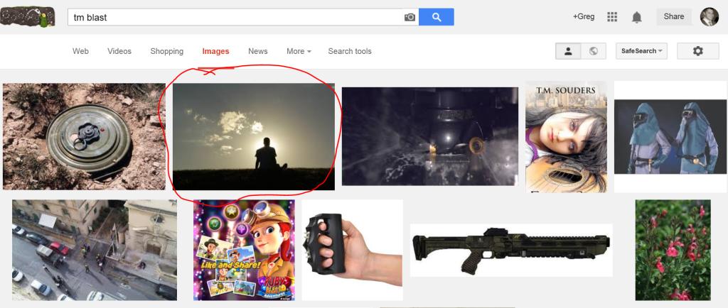 TM Blast 1 image in Google Image