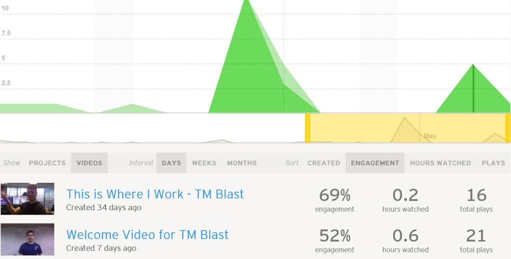 Video Stats on Wistia
