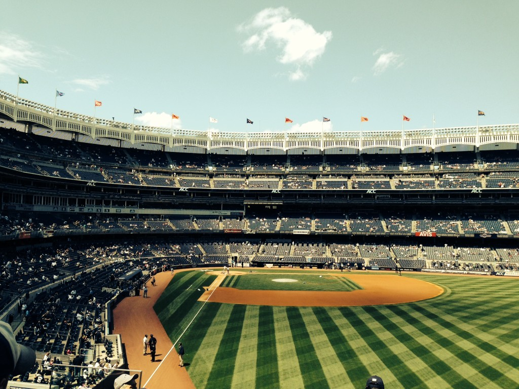 Yankee Stadium Day Game