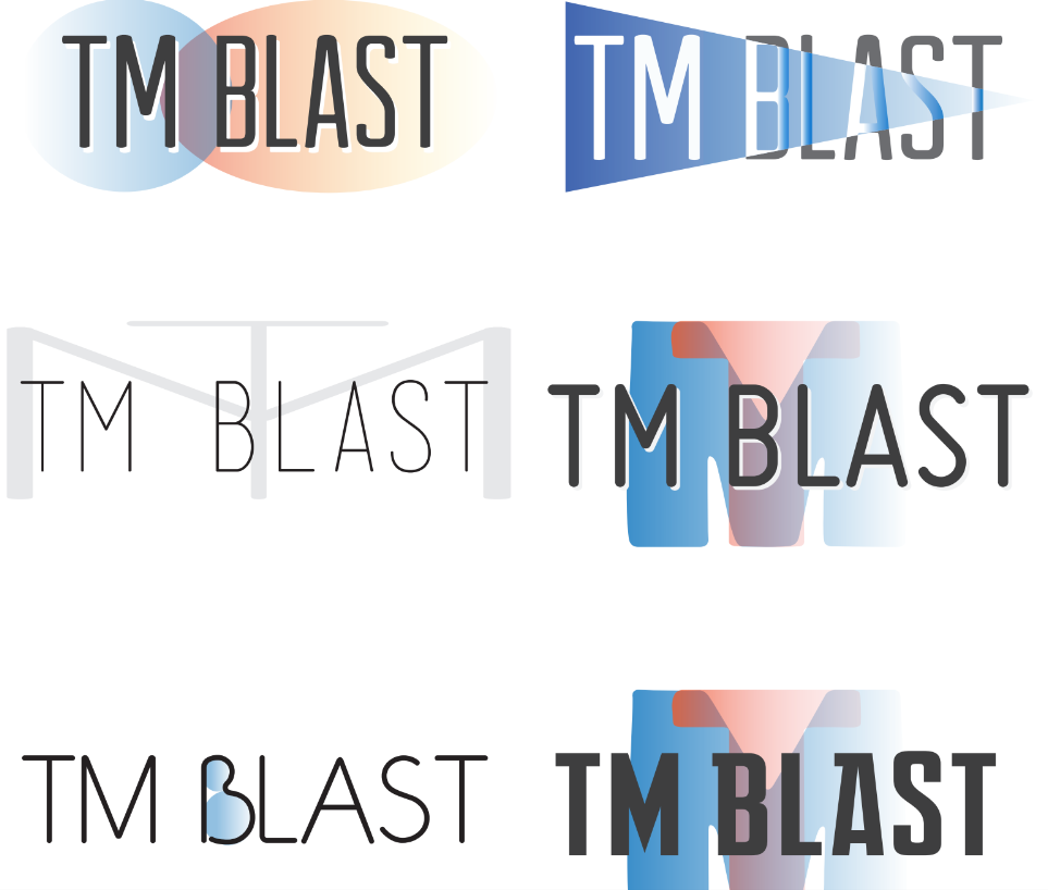 Phase 1 of Logos for TM Blast