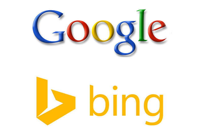 Google and Bing