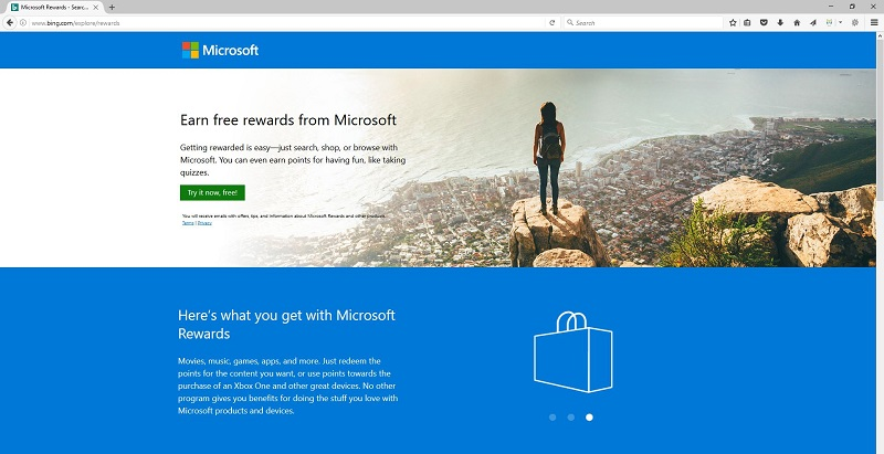 How to Sign up for Microsoft Rewards Program