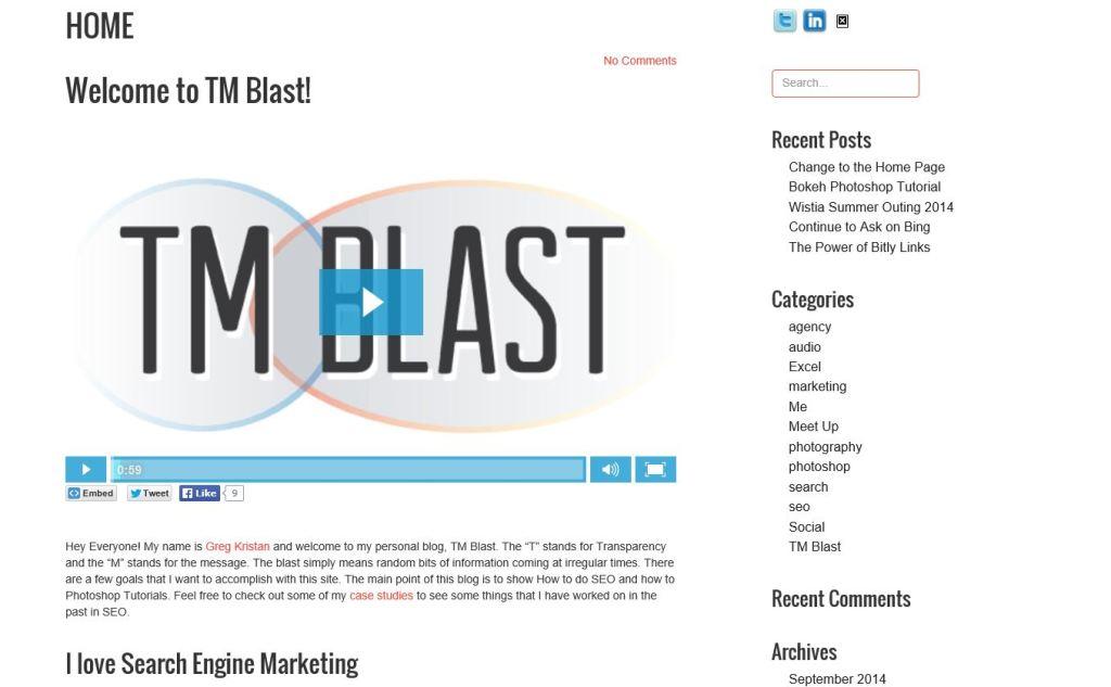 Old TM Blast