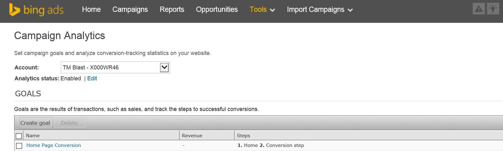 Bing Ads Campaign Analytics