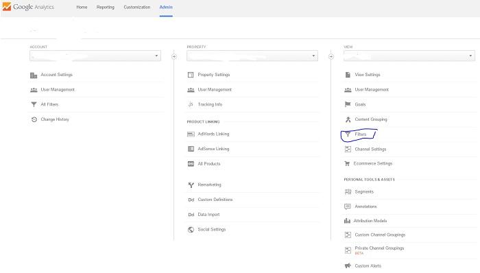 Google-Analytics-Filter-Dashboard