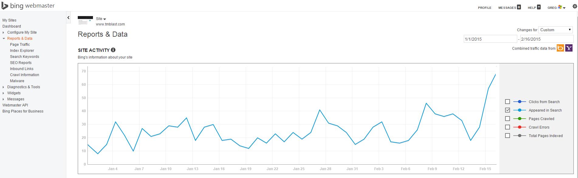 Bing Data