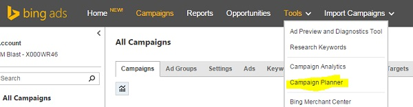 Campaign-Planner-in-Bing-Ads