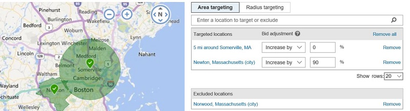 Location Targeting in Bing Ads