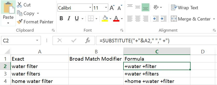 BMM Formula in Excel How To