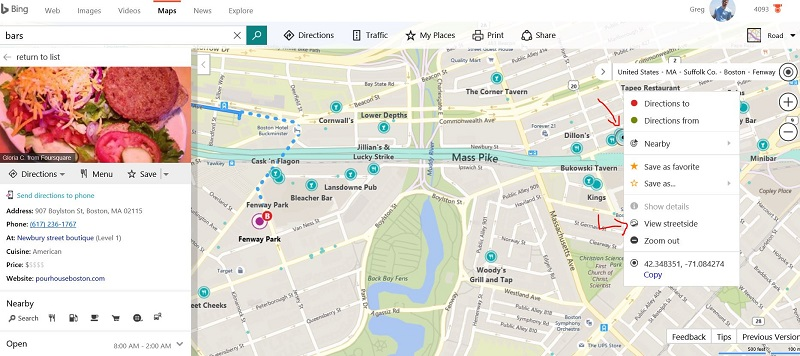 How to use Bing Maps to Search Like a Boss - TM Blast