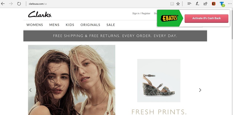 Ebates Extension Edge