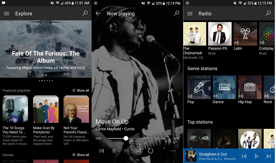 Microsoft Groove for Mobile Android Phones