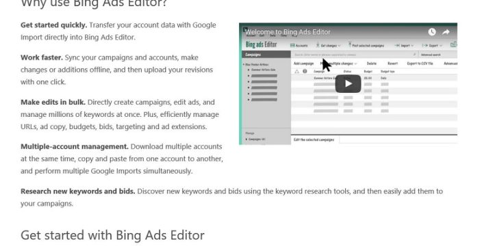 The Ultimate Guide for Bing Ads Editor