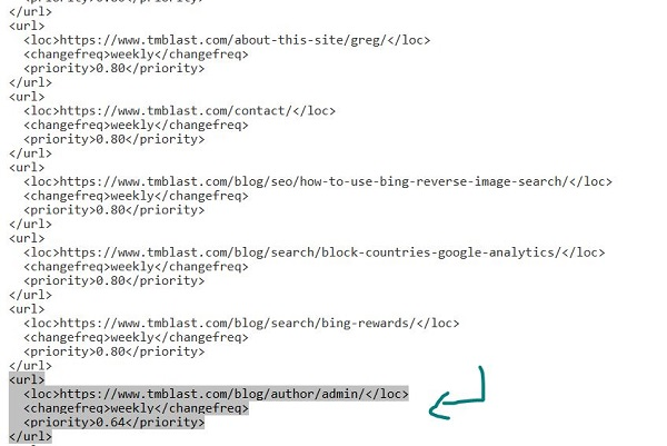 manually removing files in a xml sitemap for SEO