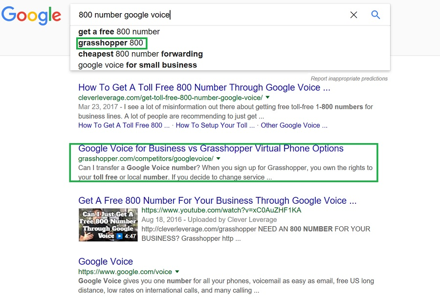 How to Have Your Company Show up in a Related Search