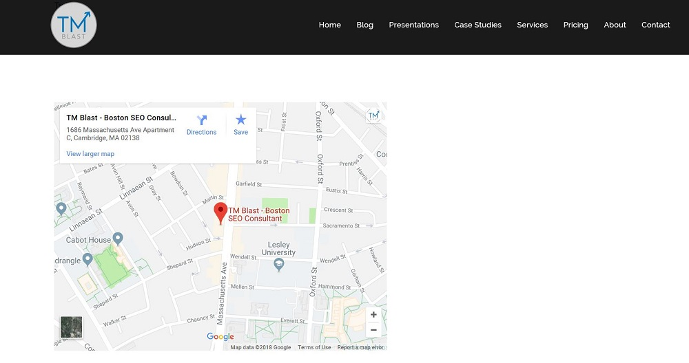 Embed Google Maps on Your Website
