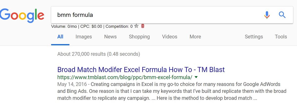 Google Low Search Volume Case Study