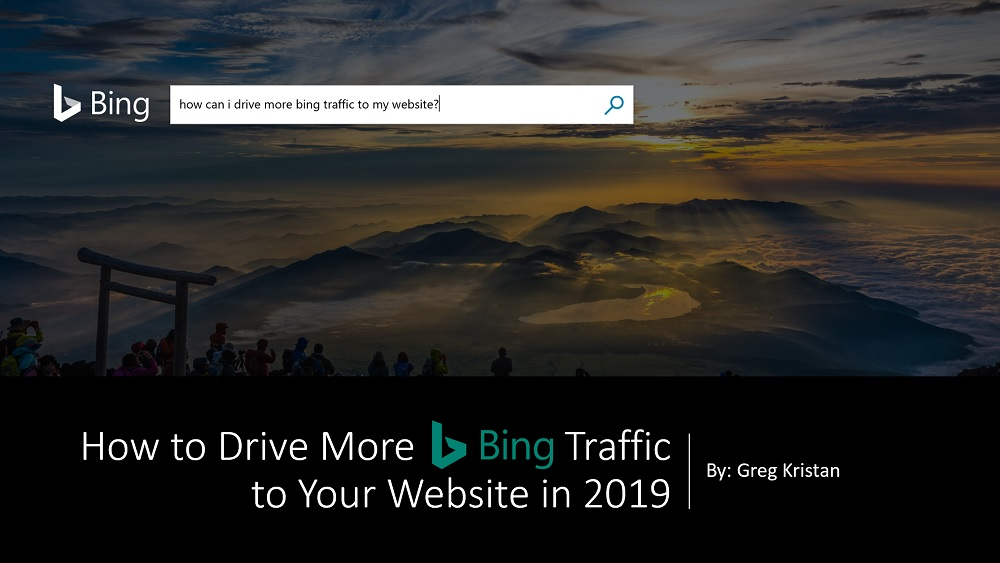 How to Drive More Bing Traffic
