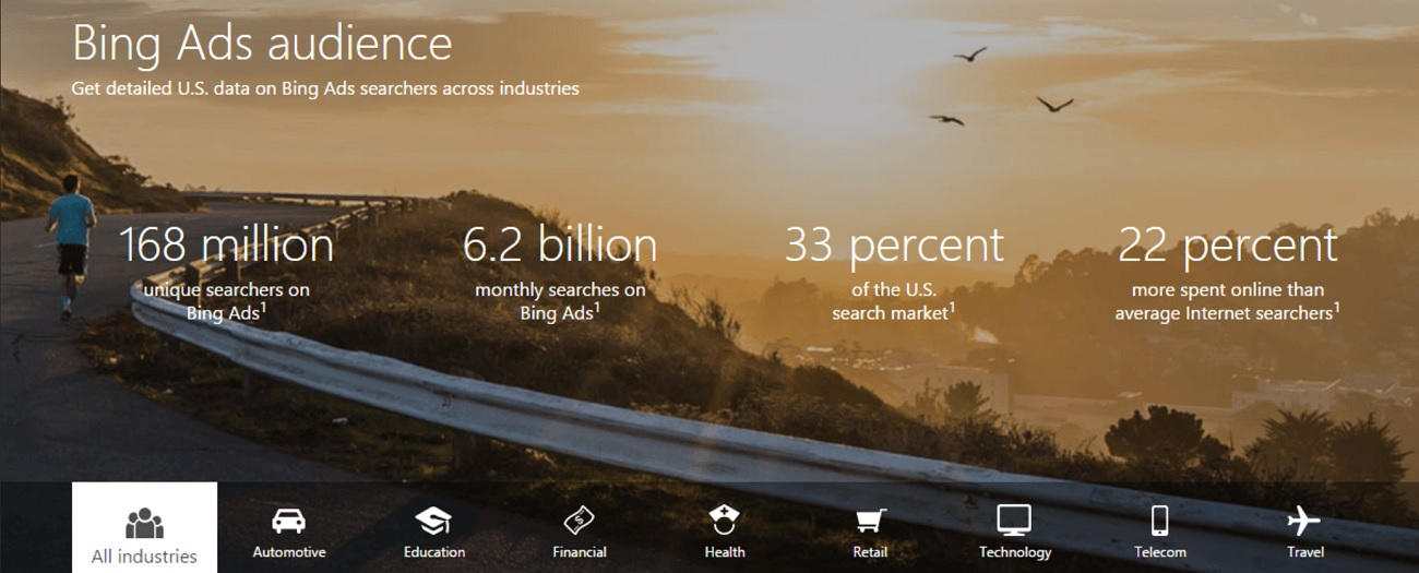 Bing Ads Audience