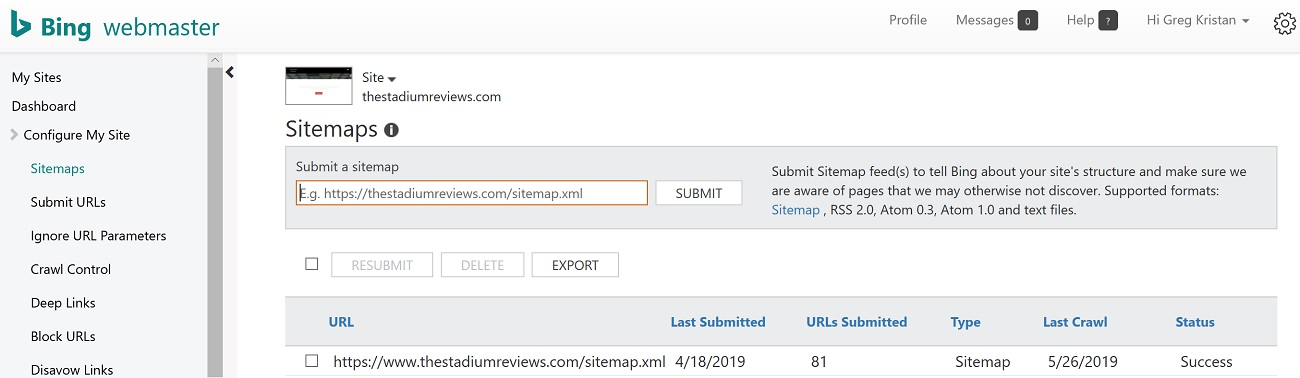 Submit Your XML Sitemap to Bing Webmaster Tools for Faster SEO